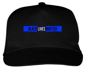 THIN BLUE BLM CAP