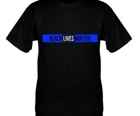 THIN BLUE BLM T-SHIRT