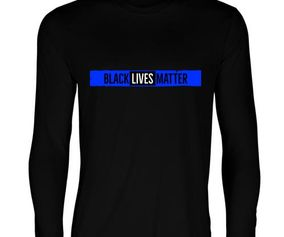 THIN BLUE BLM LS T-SHIRT